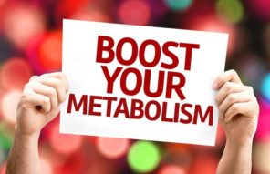 Boost Your Metabolism board sign