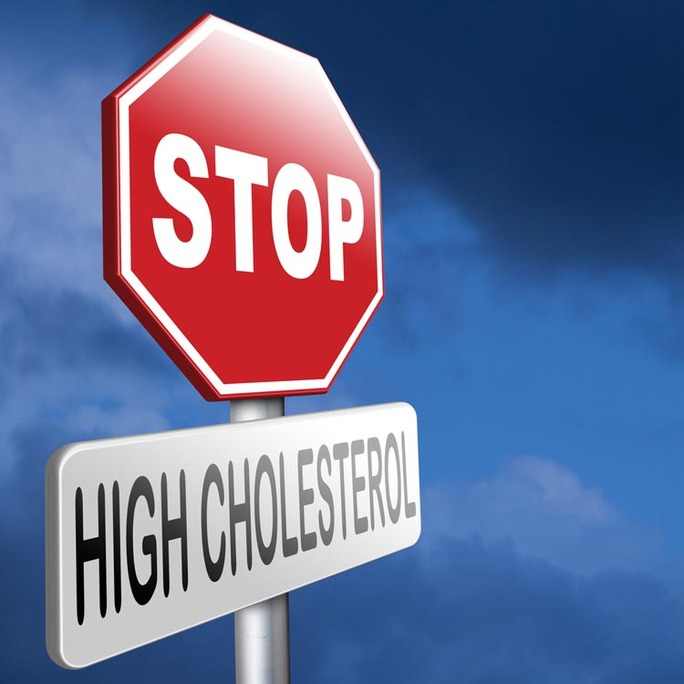 stop sign high cholesterol