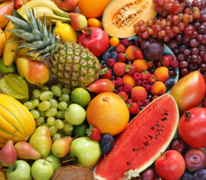 fresh fruits against cancer
