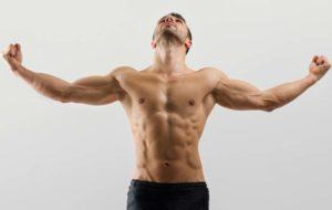 preview-full-Workout shirtless strong man showing muscles