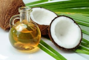 coconut meat and coconut oil