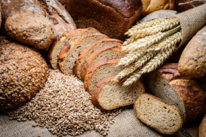 whole grain bread wheat bran