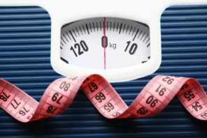 weighing scale and tape measure weight loss