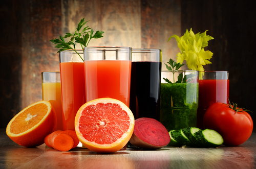 detox fruit juices