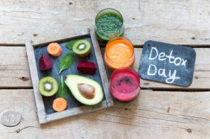 detox day fruit juices