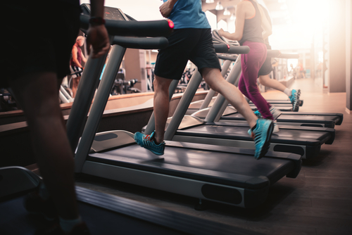 running on treadmill more energy with Progentra