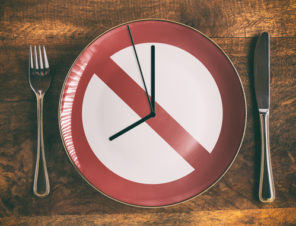clock on plate fasting diet and beneficial Progentra pills
