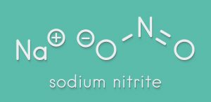 sodium nitrite chemical symbol and structure