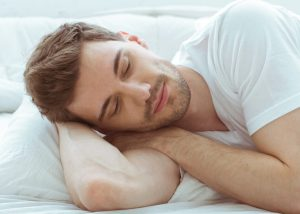Progentra user having a good quality sleep