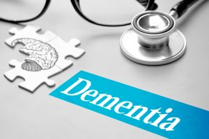 dementia brain with missing puzzle piece