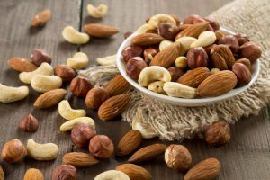 nuts as source of phytic acid