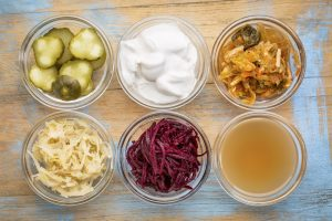 probiotic rich food sources yogurt miso sauerkraut