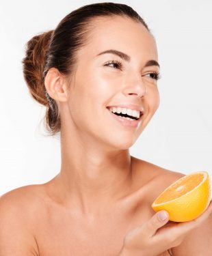 natural vitamin C and glowing skin