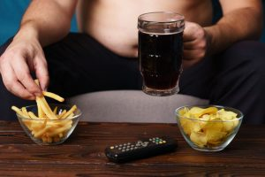 sedentary lifestyle and junk foods