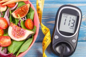 food and glucose meter