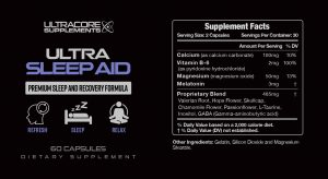 UltraCore Supplements Ultra Sleep Aid: Is This An Ultimate Solution To Induce Better Sleep?